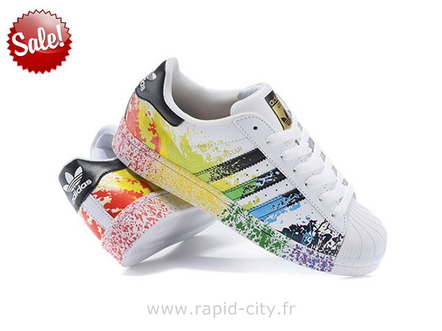 baskets adidas superstar noir